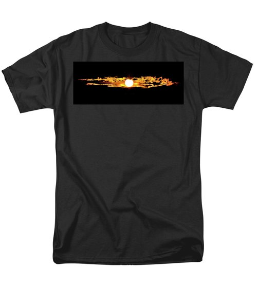 Men's T-Shirt  (Regular Fit) featuring the photograph Dawn Of The Golden Age by Az Jackson