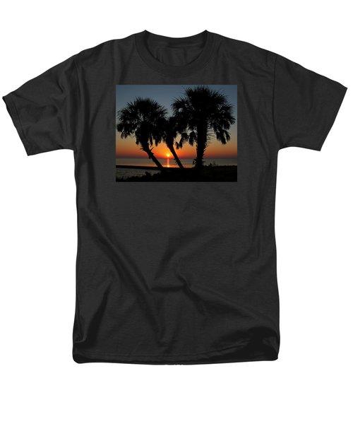 Men's T-Shirt  (Regular Fit) featuring the photograph Daybreak by Judy Vincent