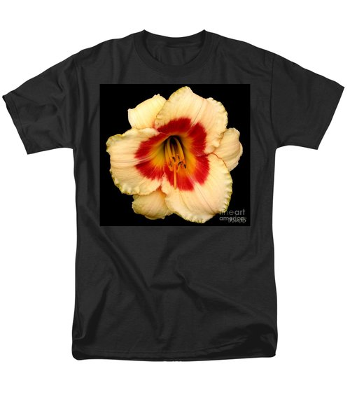 Daylily 3 Men's T-Shirt  (Regular Fit) by Rose Santuci-Sofranko