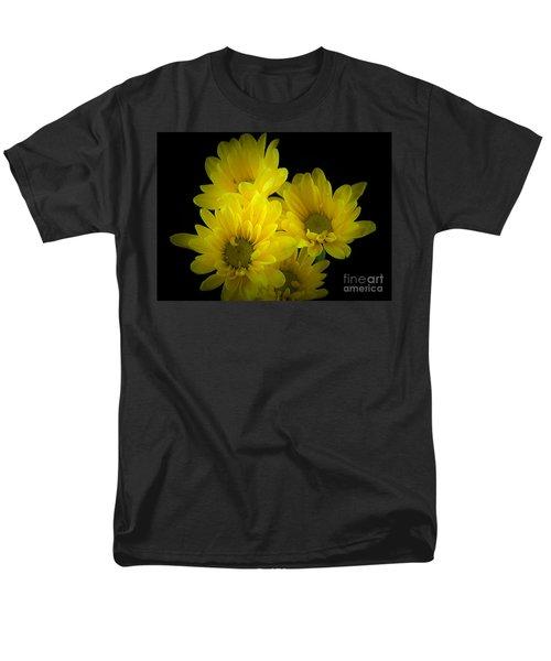 Dazzling Yellow Men's T-Shirt  (Regular Fit) by Ray Shrewsberry