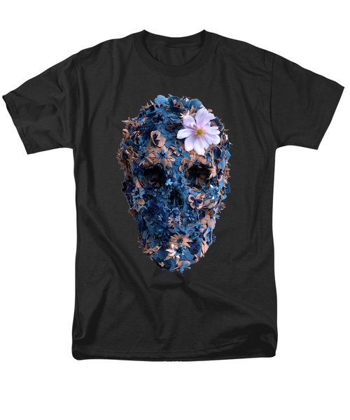 Skull 9 T-shirt Men's T-Shirt  (Regular Fit) by Herb Strobino