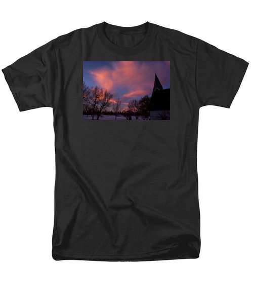 December Skies Men's T-Shirt  (Regular Fit) by Ellery Russell