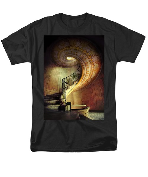 Decorated Spiral Staircase  Men's T-Shirt  (Regular Fit)