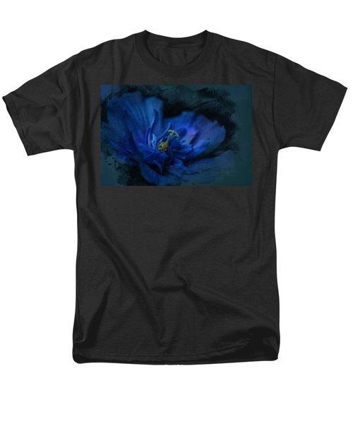 Deep Blue Men's T-Shirt  (Regular Fit)