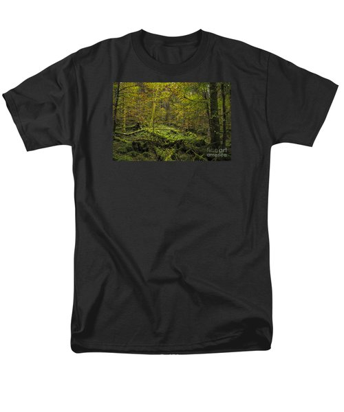Men's T-Shirt  (Regular Fit) featuring the photograph Deep Of The Forest by Yuri Santin