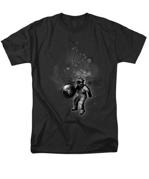 Deep Sea Space Diver Men's T-Shirt  (Regular Fit) by Nicklas Gustafsson
