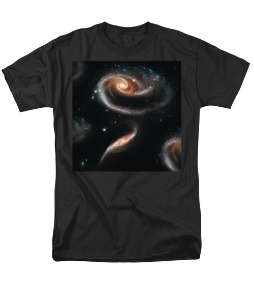 Deep Space Galaxy Men's T-Shirt  (Regular Fit) by Jennifer Rondinelli Reilly - Fine Art Photography
