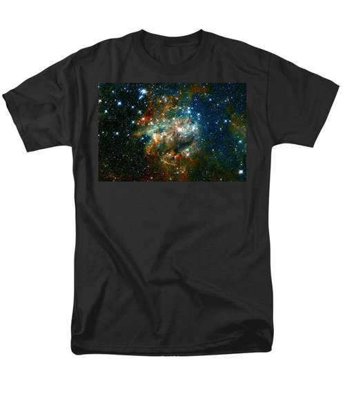 Deep Space Star Cluster Men's T-Shirt  (Regular Fit) by Jennifer Rondinelli Reilly - Fine Art Photography
