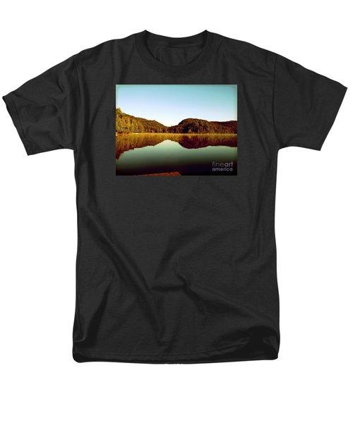 Denholm Lake Men's T-Shirt  (Regular Fit) by France Laliberte