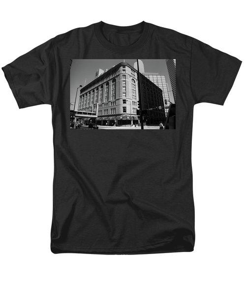 Denver Downtown Bw Men's T-Shirt  (Regular Fit) by Frank Romeo