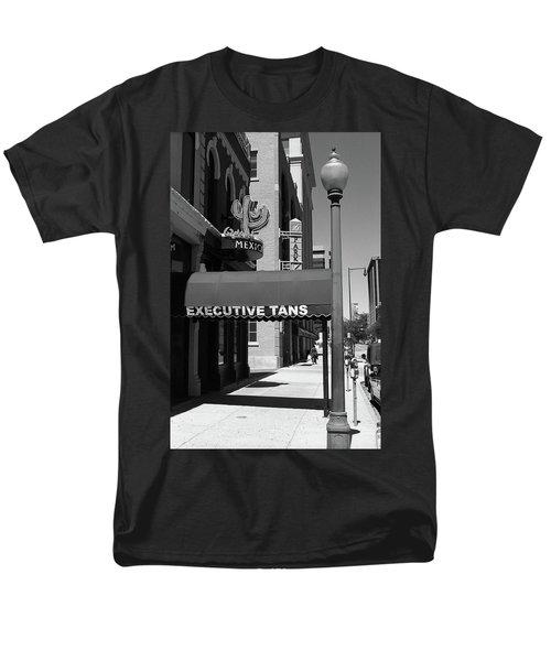Denver Downtown Storefront Bw Men's T-Shirt  (Regular Fit) by Frank Romeo