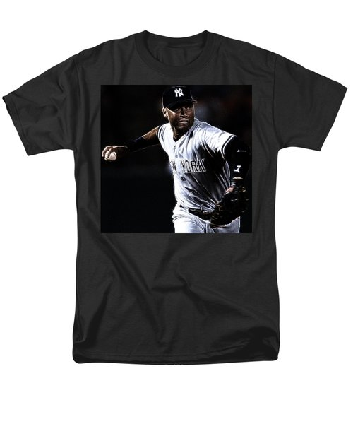 Derek Jeter Men's T-Shirt  (Regular Fit) by Paul Ward
