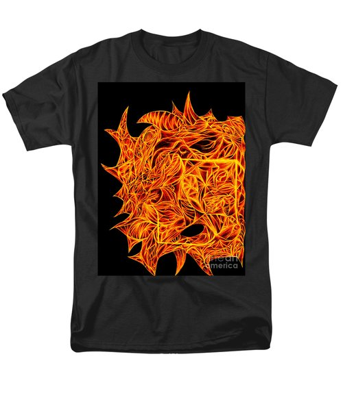 Men's T-Shirt  (Regular Fit) featuring the drawing Desire Flair by Jamie Lynn