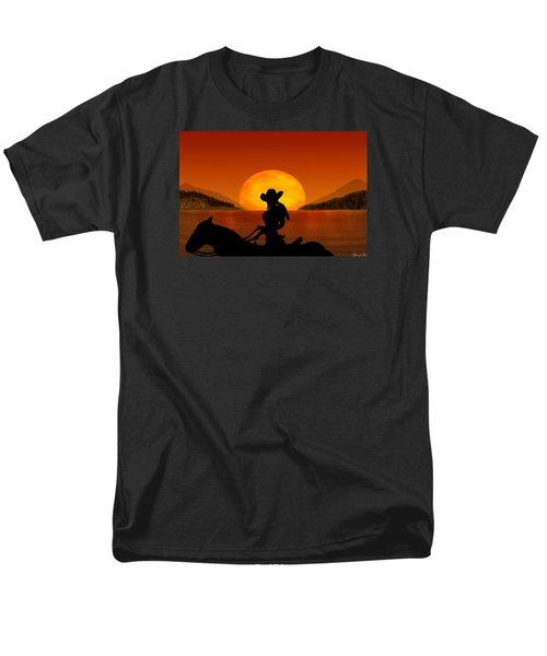 Men's T-Shirt  (Regular Fit) featuring the digital art Desperado by Bernd Hau
