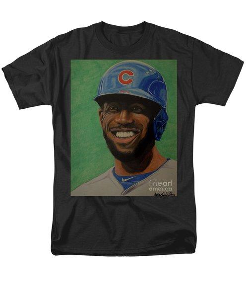 Dexter Fowler Portrait Men's T-Shirt  (Regular Fit) by Melissa Goodrich