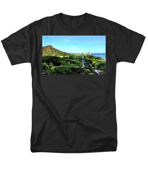 Men's T-Shirt  (Regular Fit) featuring the photograph Diamond Head by Kristine Merc
