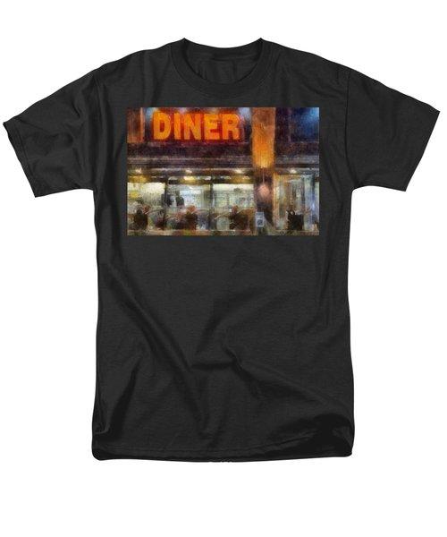 Men's T-Shirt  (Regular Fit) featuring the digital art Diner by Francesa Miller