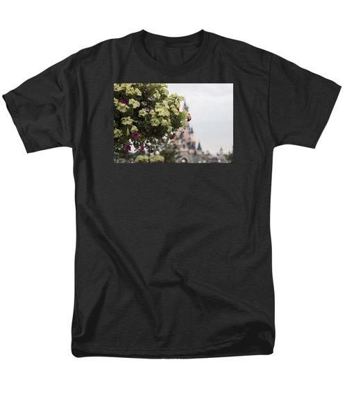 Disneyland Paris Flowers Men's T-Shirt  (Regular Fit) by Roger Lighterness