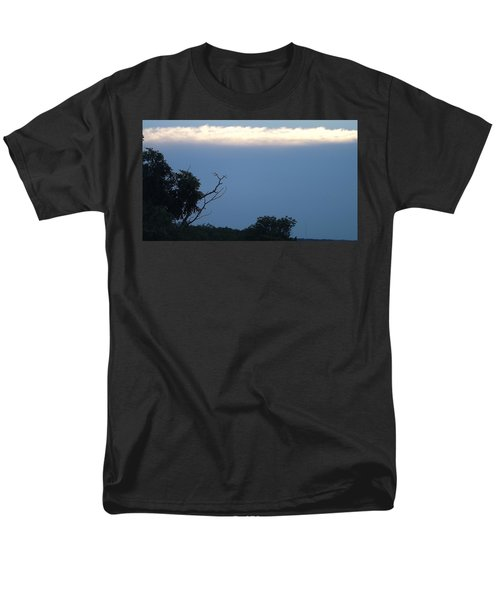 Distant White Clouds Men's T-Shirt  (Regular Fit) by Don Koester
