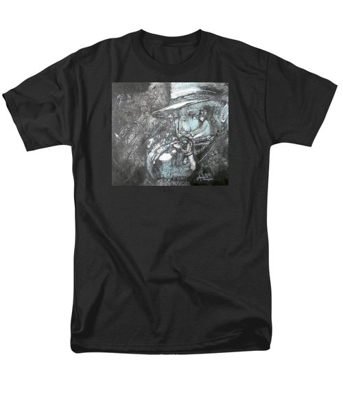 Divine Blues Men's T-Shirt  (Regular Fit) by Anne-D Mejaki - Art About You productions