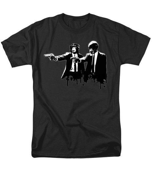 Divine Monkey Intervention - Pulp Fiction Men's T-Shirt  (Regular Fit)