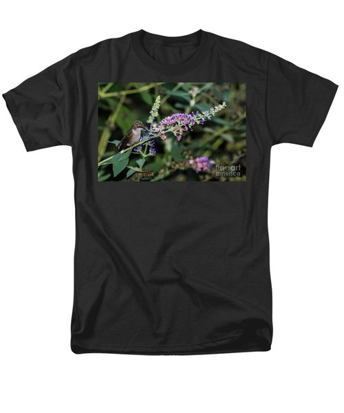 Men's T-Shirt  (Regular Fit) featuring the photograph Do You Mind by Judy Wolinsky