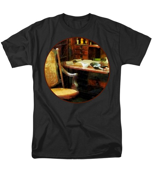 Men's T-Shirt  (Regular Fit) featuring the photograph Doctor - Doctor's Office by Susan Savad
