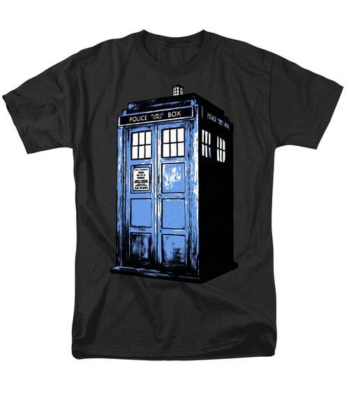 Doctor Who Tardis Men's T-Shirt  (Regular Fit) by Edward Fielding