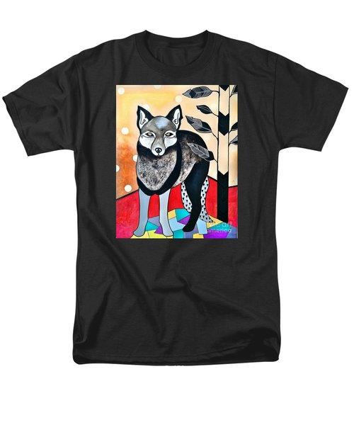 Dog Men's T-Shirt  (Regular Fit) by Amy Sorrell
