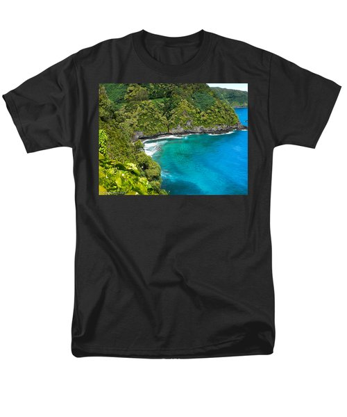 Men's T-Shirt  (Regular Fit) featuring the photograph Dolphin Cove by Debbie Karnes
