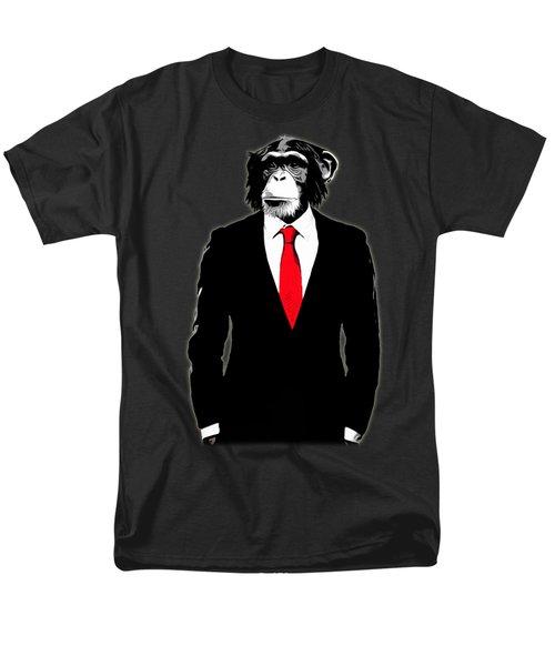 Domesticated Monkey Men's T-Shirt  (Regular Fit)