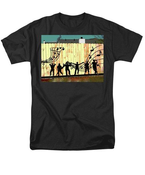 Don't Fence Me In Men's T-Shirt  (Regular Fit)