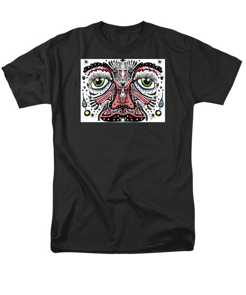 Doodle Face Men's T-Shirt  (Regular Fit) by Darren Cannell