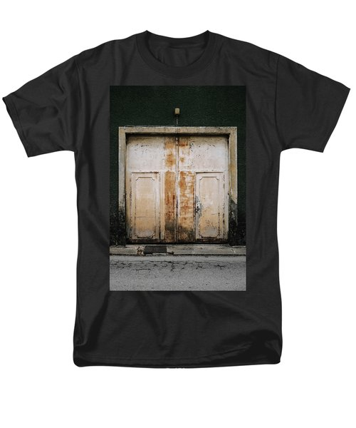 Men's T-Shirt  (Regular Fit) featuring the photograph Door No 163 by Marco Oliveira