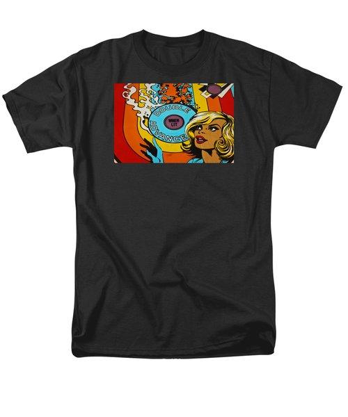 Double Advance - Pinball Men's T-Shirt  (Regular Fit) by Colleen Kammerer