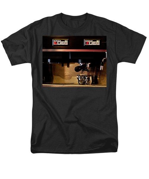 Double Shot Of Espresso Men's T-Shirt  (Regular Fit)