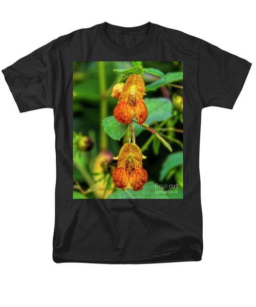 Double Shot Of Jewelweed Men's T-Shirt  (Regular Fit) by Barbara Bowen