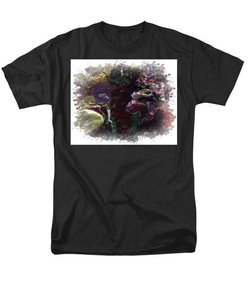 Men's T-Shirt  (Regular Fit) featuring the mixed media Down In The Valley by Angela L Walker