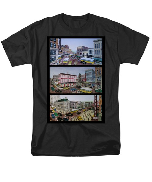 Downtown Portsmouth 1948 Men's T-Shirt  (Regular Fit) by Frank Hunter