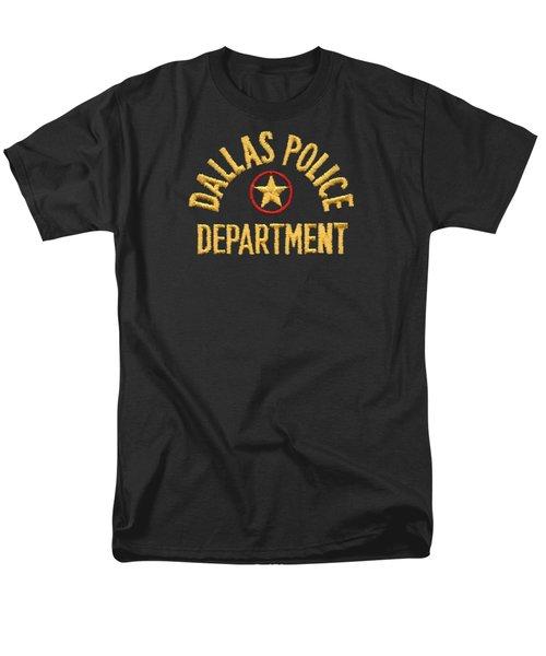 Dpd Shoulder Patch - Retired Men's T-Shirt  (Regular Fit) by Robert J Sadler