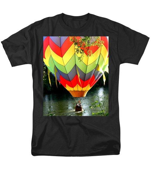 Dragging The Water   Line Men's T-Shirt  (Regular Fit)
