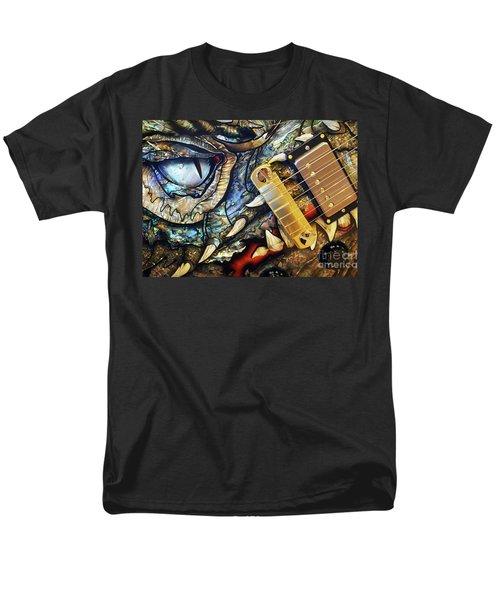 Dragon Guitar Prs Men's T-Shirt  (Regular Fit) by Martin Konopacki
