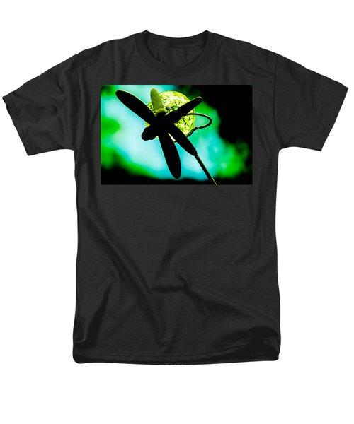 Dragonfly Crystal Men's T-Shirt  (Regular Fit) by Bruce Pritchett