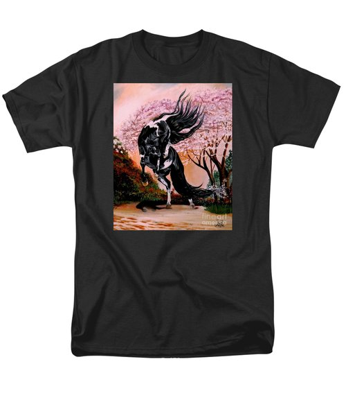 Dream Horse Series #2050 Mustang Valley Men's T-Shirt  (Regular Fit) by Cheryl Poland