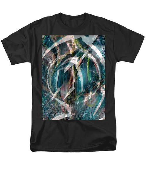 Dimension In Space Men's T-Shirt  (Regular Fit) by Yul Olaivar