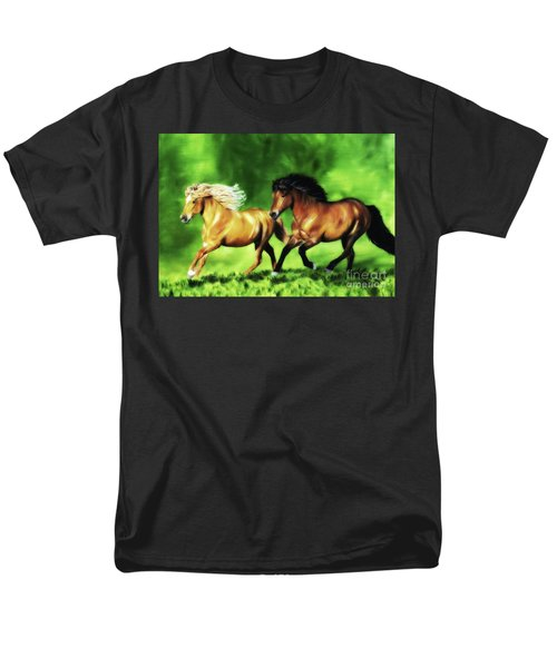 Men's T-Shirt  (Regular Fit) featuring the painting Dream Team by Shari Nees