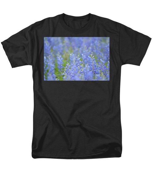 Men's T-Shirt  (Regular Fit) featuring the photograph Dreaming Bluebonnets 1 by Carolina Liechtenstein