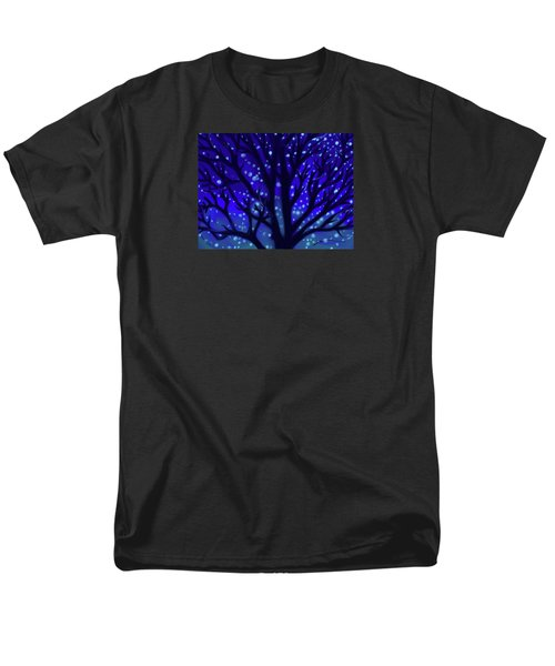 Men's T-Shirt  (Regular Fit) featuring the painting Dreams Of Needham by Jean Pacheco Ravinski