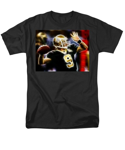 Drew Brees New Orleans Saints Men's T-Shirt  (Regular Fit) by Paul Van Scott