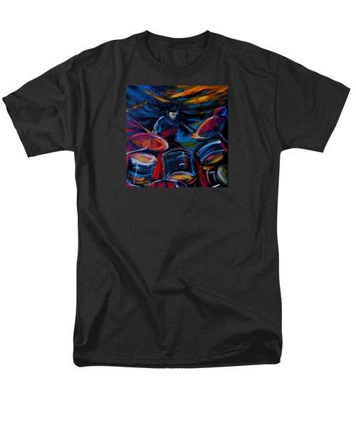 Drummer Craze Men's T-Shirt  (Regular Fit) by Jeanette Jarmon
